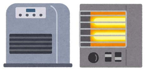 暖房機器の蔵出し.jpg