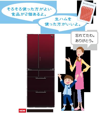 シャープ冷蔵庫SJ-TF50B