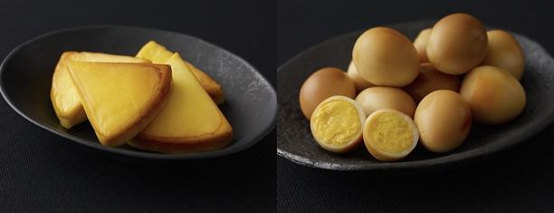 ゆで卵もチーズも美味しくスモーク